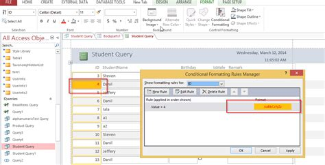 quot conditionals microsoft access 2013 quotes