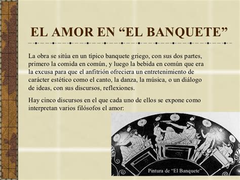 el banquete o sobre 154951086x el amor para plat 243 n