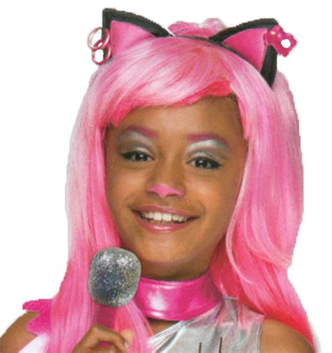 Nz Catty high catty noir child wig buy costumes