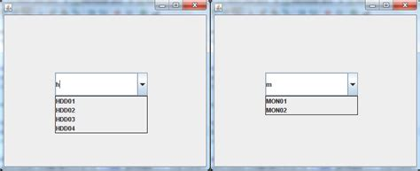 swing jcombobox java apply keyevent to a method stack overflow