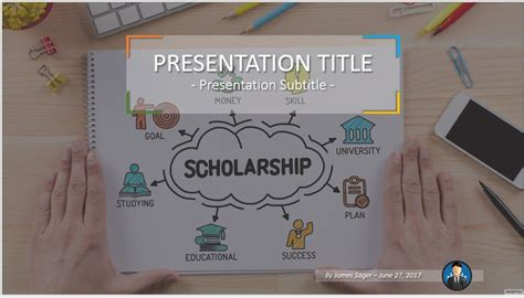 Scholarship Presentation Template Free Scholarship Powerpoint 48342 Sagefox Powerpoint Templates