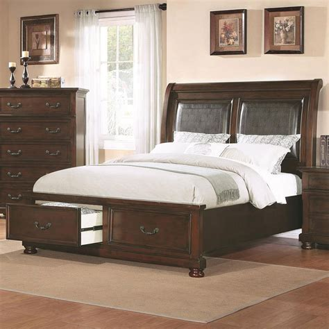 pulaski hannah accent table 517129 homelement com hannah storage bed w upholstered headboard beds