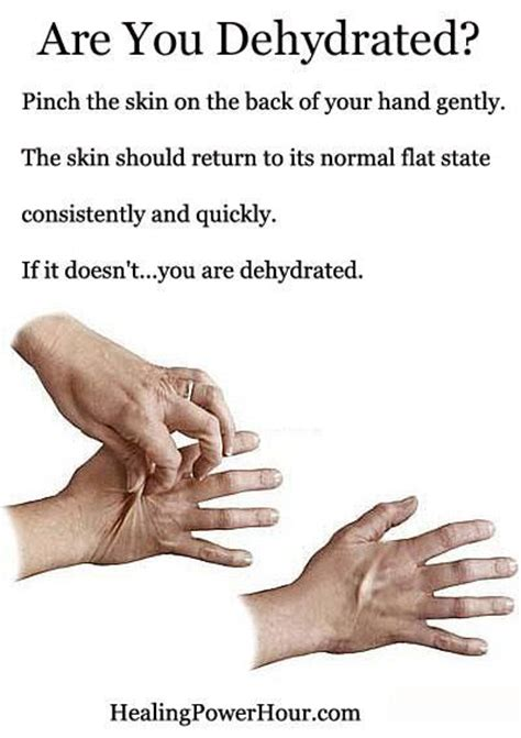 how to tell if a is dehydrated are you dehydrated health and