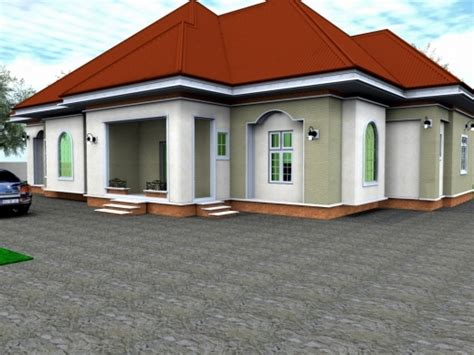 house designs and floor plans in nigeria gorgeous 3d bungalow house plans 4 bedroom lrg 9db7e2e50ee