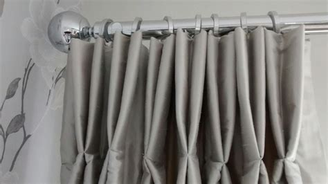 hanging curtains with rings how to hang pinch pleat curtains with rings curtain