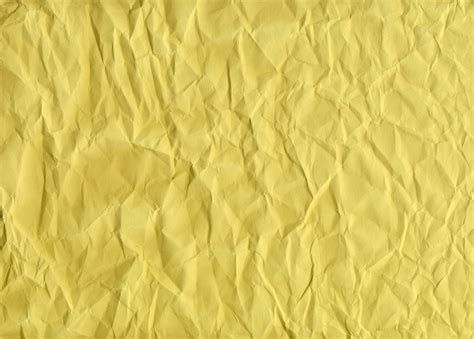 How To Make Paper Yellow - yellow creased paper texture background