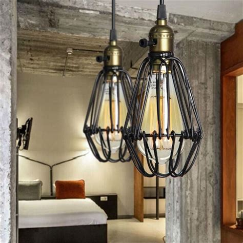 Industrial Retro Vintage Kitchen Bar Shop Black Pendant Bar Pendant Light Fixtures