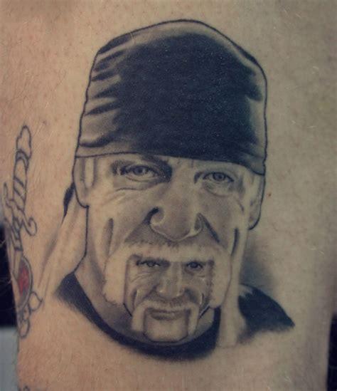 hulk hogan tattoo portraits