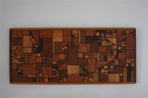 wooden wall hanging vintage mid century modern wood wall art hanging geometric