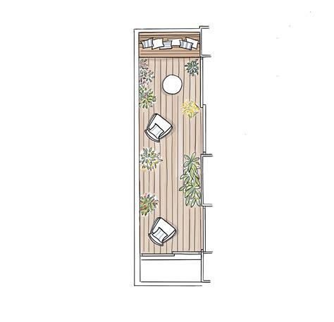decoracion de balcones alargados como decorar una terraza alargada decorar balcones