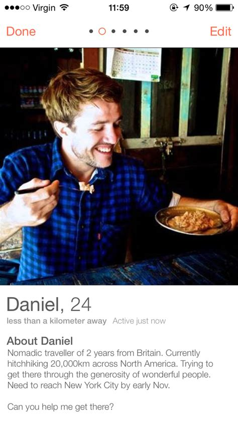 tinder  hitchhike  america business