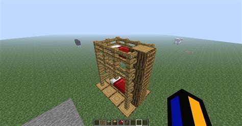 how do you make a bed in minecraft how to make a triple bunk bed in minecraft woodguides