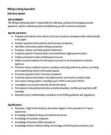 office administration sle resume prepared centennial the billing specialist
