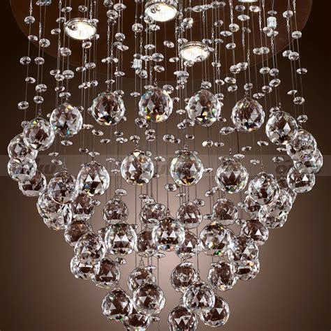 Crystal Drop Chandelier Flush Mounted Chandelier Image Chandeliers For Sale On Ebay