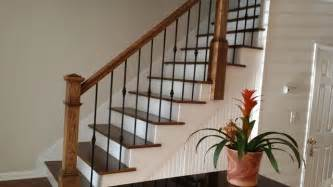 Metal Stair Banisters Wrought Iron Baluster Transformations