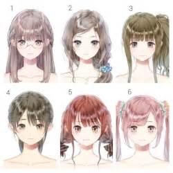 names of anime inspired hair styles best 25 anime hairstyles ideas on pinterest manga hair