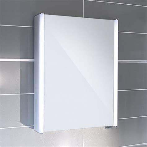 Illuminated Bathroom Mirror Cabinets Ora Illuminated Mirrored Cabinet