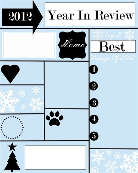 year review christmas letter template christmas