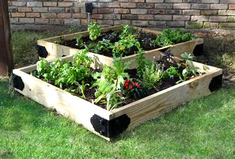 Raised Planter Box Kit Vegetable Garden Kits For Sale