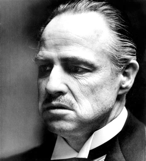 Godfather Don the godfather don vito corleone bilder auf leinwand