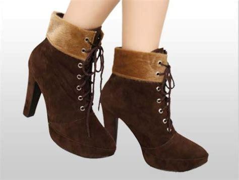 Sepatu Boots Wedges Wanita Terbaru trend sepatu boots wanita images