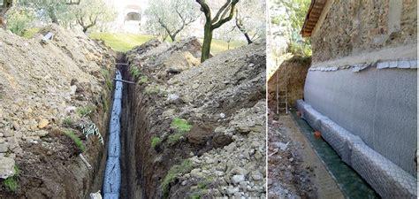 ghiaia drenante trenchmat canaletta prefabbricata
