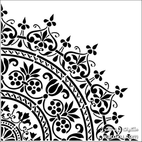 free printable home decor stencils زخارف استنسل رائعه لكافه الاستخدامات page 15