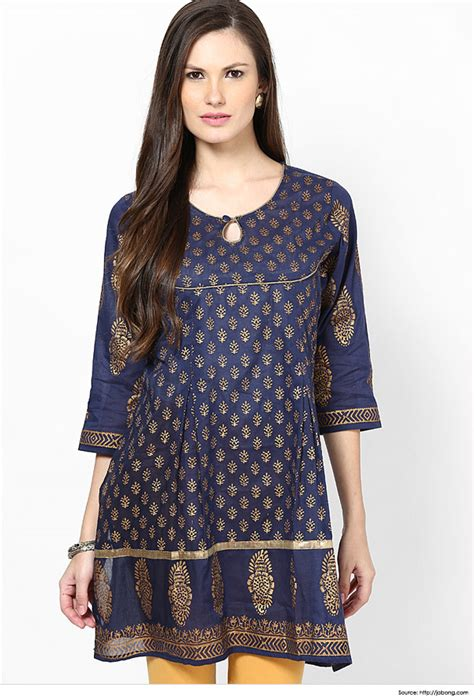 design pattern kurti top 6 simple yet stylish neck designs for kurtis