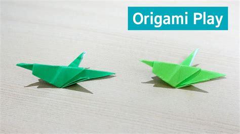 Origami Locust - 미니 메뚜기 종이접기 메뚜기 만들기 origami locust grasshopper