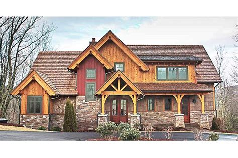 mountainside home plans rustic mountain home designs rustic mountain house floor