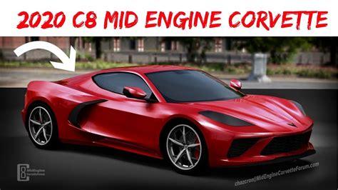 mid engine  corvette  coming  cad render