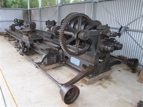 Granite Lathe Moruya Antique Tractor Amp Machinery Assoc Inc