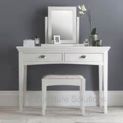 White Vanity Table Hstead White Dressing Table Oak Furniture Solutions