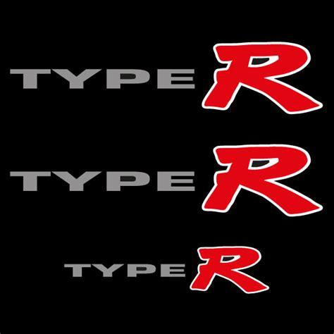 R Car Sticker by Car Sticker Type R K20