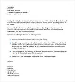 Standard Business Proposal Template Sample Standard Business Letter Format 7 Free Documents