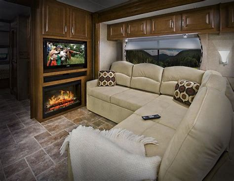 Rv With Fireplace by Luxury Rv Coaches Rv Type Class A Motorhomes Engine Fuel