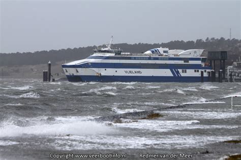 boot ameland storm hoogwater 171 veerbootinfo nl