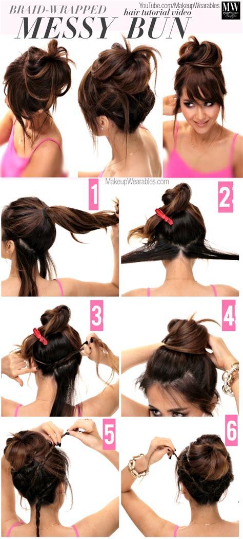 lazy easy hairstyles 4 lazy easy hairstyles how to braids buns