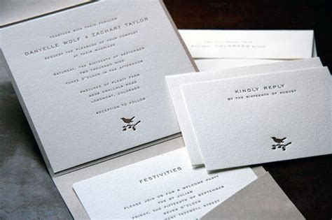 Square Wedding Invitations by Wedding Invitations Page Stationery