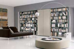 Modern Home Library Interior Design home library design