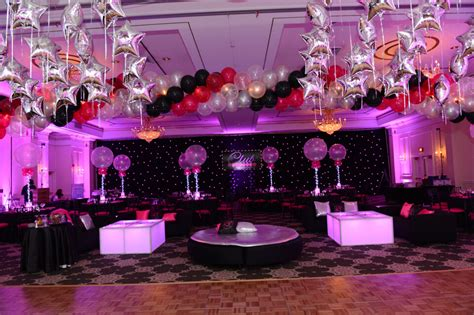 club themed decorations our gallery balloon artistry