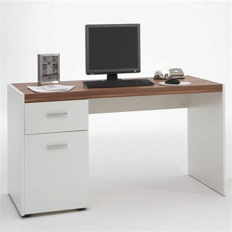 white computer desks for home furniture in fashion lena white plumtree computer desk
