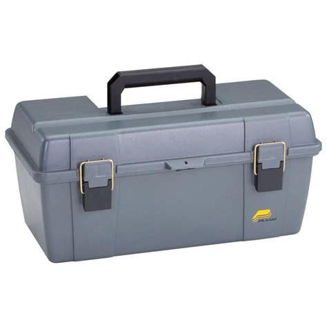plano 20 in tool box with tray graphite gray shop your