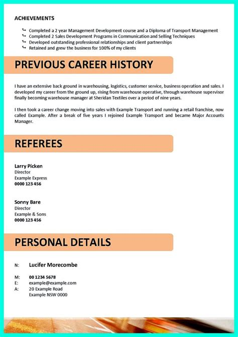 simple but serious mistake in cdl driver resume simple but serious mistake in cdl driver resume