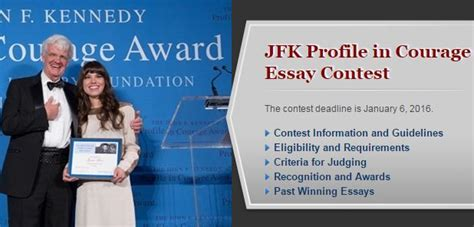 Jfk Courage Essay by F Kennedy Profile In Courage Essay Contest F Kennedy Profile In Courage Essay