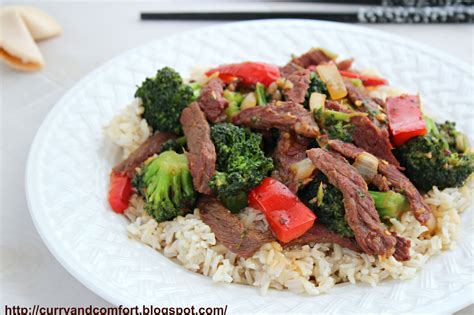 kitchen simmer ginger beef and broccoli stir fry