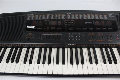 Keyboard Casio Ctk casio ctk 1000 electronic keyboard property room