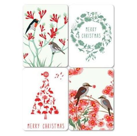 aussie xmas magnet card by mokoh design bits of australia