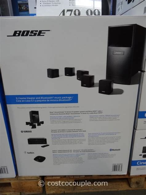 bose acoustimass 6 home theater system pioneer bundle