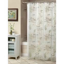 Peva Shower Curtains Cherish Peva Shower Curtain Boscov S